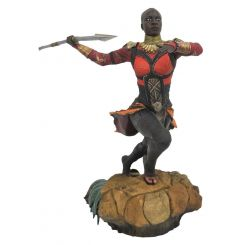 Black Panther Marvel Movie Gallery statuette Okoye Diamond Select