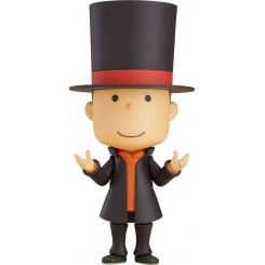 Layton Mystery Detective Agency Kat's Mystery Solving Files figurine Nendoroid Professor Layton Good Smile Company