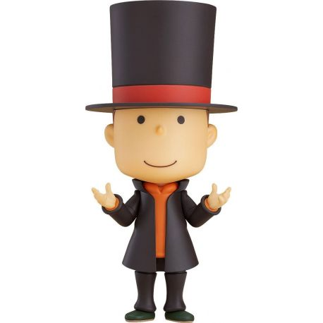 Layton Mystery Detective Agency Kat's Mystery Solving Files figurine Nendoroid Professor Layton Good Smile Company
