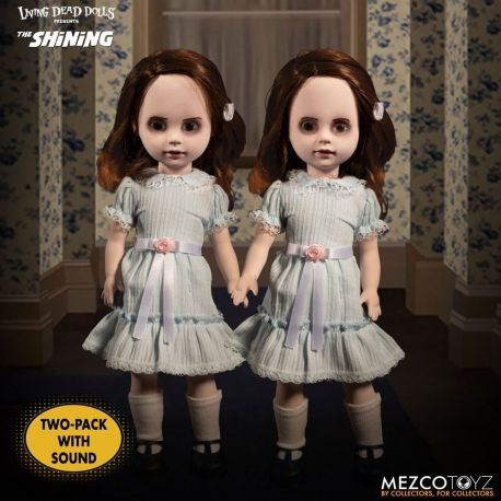 Shining Living Dead Dolls pack poupées sonores The Grady Twins Mezco Toys