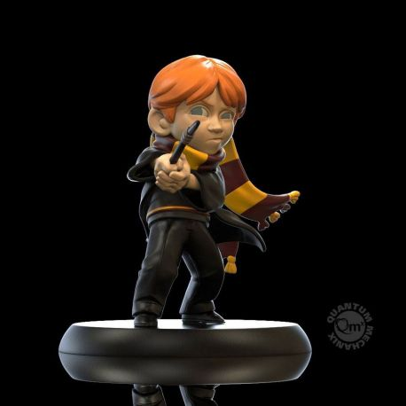 Harry Potter figurine Q-Fig Ron Weasley's First Wand Quantum Mechanix