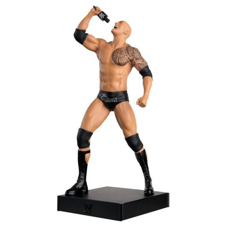 WWE Championship Collection 1/16 The Rock Eaglemoss Publications Ltd.