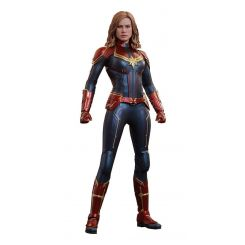 Captain Marvel figurine Movie Masterpiece 1/6 Carol Danvers Hot Toys