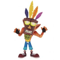 Crash Bandicoot figurine Ultra Deluxe Crash with Aku Aku Mask Neca