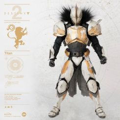 Destiny 2 figurine 1/6 Titan Calus's Selected Shader ThreeA Toys