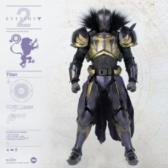 Destiny 2 figurine 1/6 Titan Golden Trace Shader ThreeA Toys