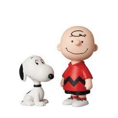 Peanuts mini figurines Medicom UDF série 10 Charlie Brown & Snoopy Medicom