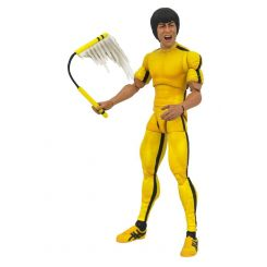 Bruce Lee Select figurine Yellow Jumpsuit Diamond Select
