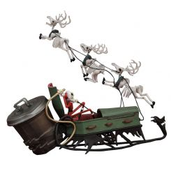 L´étrange Noël de Mr. Jack figurine Jack and Sleigh Diamond Select