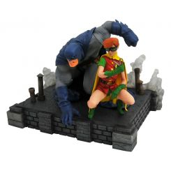 The Dark Knight Returns DC Comic Gallery figurine Batman & Robin Diamond Select