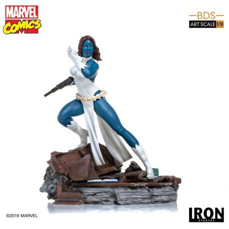Marvel Comics statuette 1/10 BDS Art Scale Mystique Iron Studios