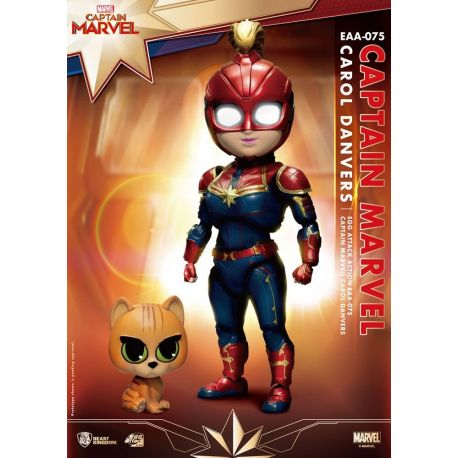 Captain Marvel Egg Attack figurine Beast Kingdom Toys