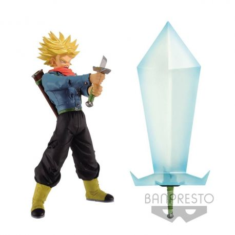 Dragonball Super assortiment figurine Super Saiyan 2 Trunks et Blade of Hope Banpresto
