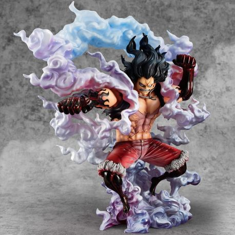 One Piece figurine 1/8 Excellent Model P.O.P. SA-Maximum Monkey D. Luffy Gear 4 Snake Man Megahouse