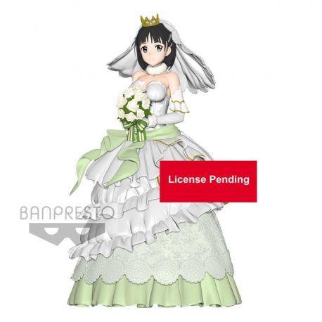 Sword Art Online Code Register figurine EXQ Wedding Suguha Banpresto
