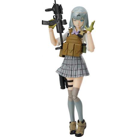 Little Armory figurine Figma Rikka Shiina Summer Uniform Ver. Tomytec