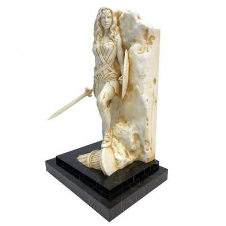 DC Comics statuette Fine Art Neo-Classical Wonder Woman Marble Finish Factory Entertainment