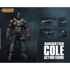 Gears of War 5 figurine 1/12 Augustus Cole Storm Collectibles