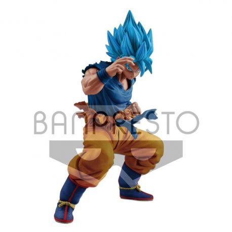 Dragonball Super figurine Masterlise Super Saiyan God Super Saiyan Son Goku Banpresto