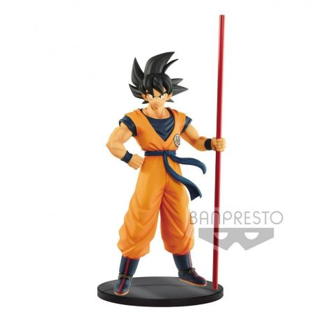 Dragonball Super figurine Son Goku The 20th Film Limited Banpresto