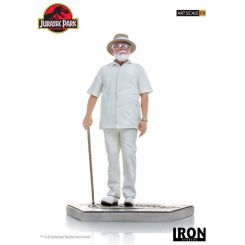 Jurassic Park statuette 1/10 Art Scale John Hammond Iron Studios