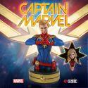 Captain Marvel buste Captain Marvel Semic
