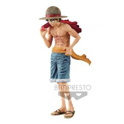 One Piece figurine magazine Monkey D. Luffy Cover of 20th Anniversary One Piece Magazine Banpresto