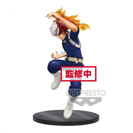 My Hero Academia figurine The Amazing Heroes Shoto Todoroki Banpresto