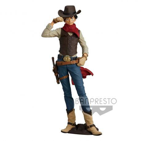 One Piece figurine Treasure Cruise World Journey Monkey D. Luffy Banpresto