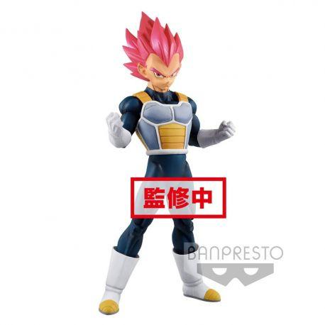 Dragonball Super figurine Cyokuku Buyuden Super Saiyan God Vegeta Banpresto