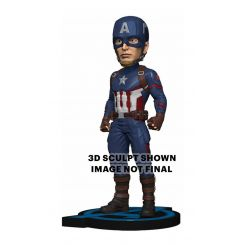 Avengers: Endgame Head Knocker Captain America Neca