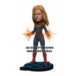 Avengers: Endgame Head Knocker Captain Marvel Neca