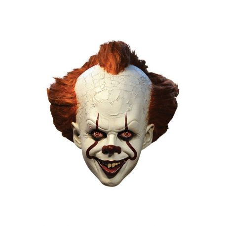 Il est revenu 2017 masque latex Pennywise Deluxe Edition Trick Or Treat Studios