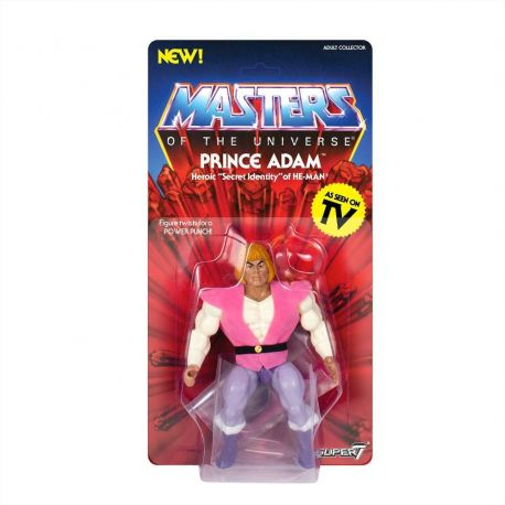 Masters of the Universe série 3 figurine Vintage Collection Prince Adam Super7
