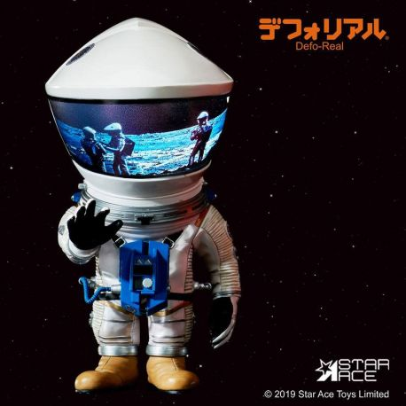 2001 l'Odyssée de l'espace figurine Artist Defo-Real Series DF Astronaut Silver Ver. Star Ace Toys