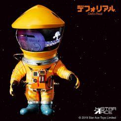 2001 l'Odyssée de l'espace figurine Artist Defo-Real Series DF Astronaut Yellow Ver. Star Ace Toys