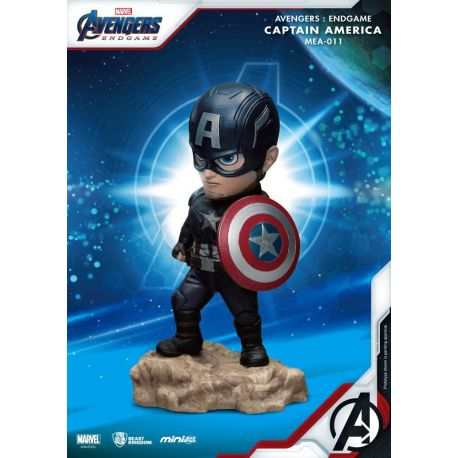 Avengers Endgame figurine Mini Egg Attack Captain America Beast Kingdom Toys
