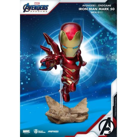 Avengers Endgame figurine Mini Egg Attack Iron Man MK50 Beast Kingdom Toys