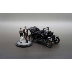 Laurel et Hardy 1925 Ford Model T 1/24 métal Sun Star Toys