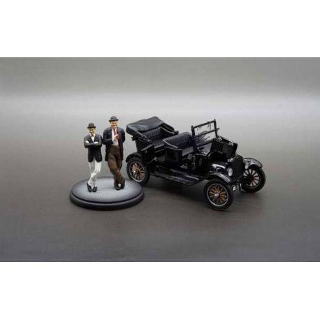 Laurel et Hardy 1925 Ford Model T 1/24 métal Sun Star Toys