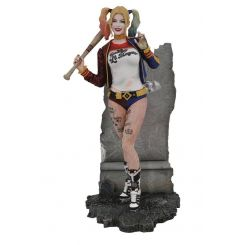 DC Movie Gallery statuette Suicide Squad Harley Quinn Diamond Select