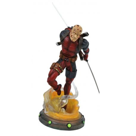 Marvel Gallery statuette Unmasked Deadpool Diamond Select