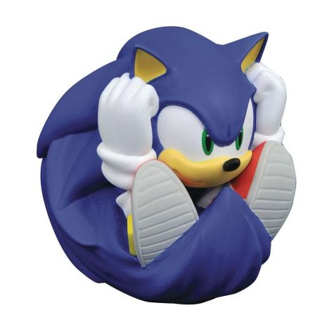 Sonic the Hedgehog tirelire vinyle Sonic Diamond Select