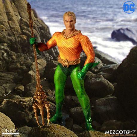 DC Comics figurine 1/12 Aquaman Mezco Toys