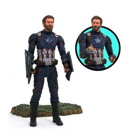 Avengers Infinity War Marvel Select figurine Captain America Diamond Select