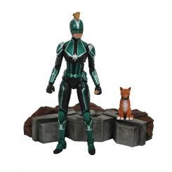 Marvel Select figurine Captain Marvel Starforce Uniform Diamond Select