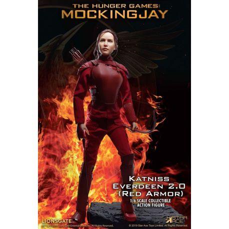 Hunger Games La Révolte partie 1 MFM figurine 1/6 Katniss Everdeen Red Armor Ver. Star Ace Toys