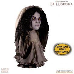 La Malédiction de la dame blanche figurine parlante Mega Scale La Llorona Mezco Toys