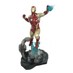 Avengers Endgame diorama Marvel Movie Gallery Iron Man MK85 Diamond Select