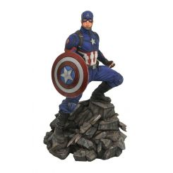 Avengers Endgame Marvel Movie Premier Collection statuette Captain America Diamond Select